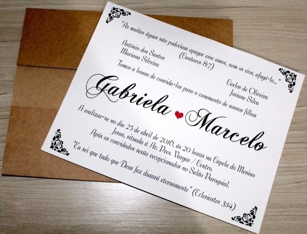 100 convite de casamento rustico promoção modelo cr00