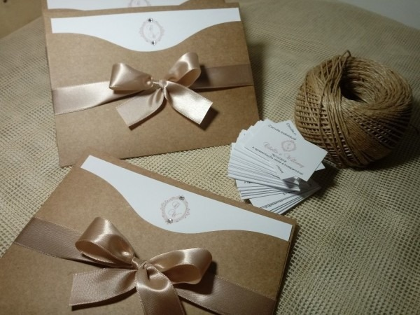 100 Convites De Casamento Jully Chocolate