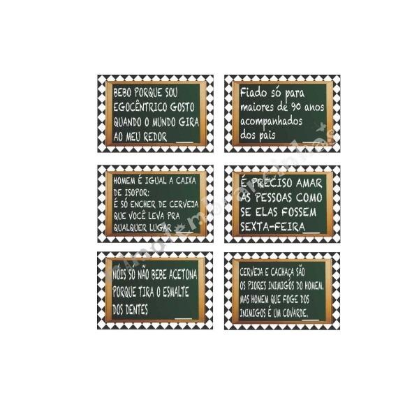 10 placas personalizadas engraçadas
