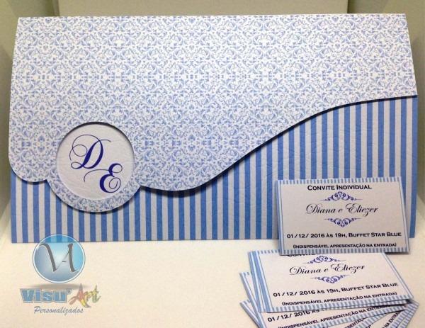 120 convite para casamento barato papel texturizado oferta