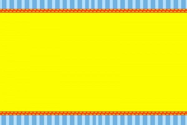 Amarelo e azul listrado