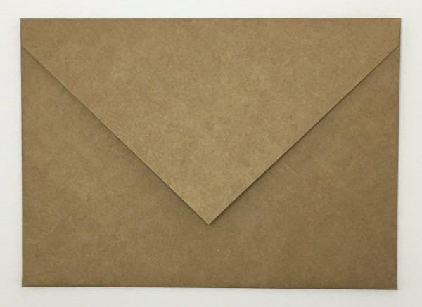 25 envelopes rústicos kraft convite casamento formatura ev40