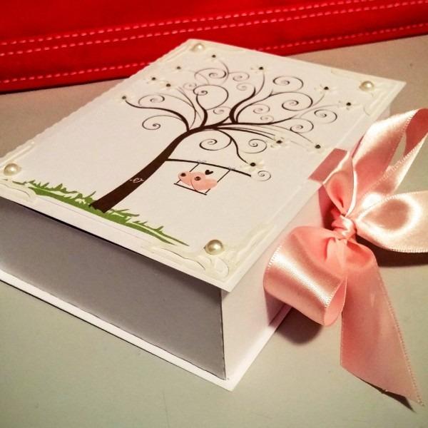 35 caixas convite casamento padrinhos