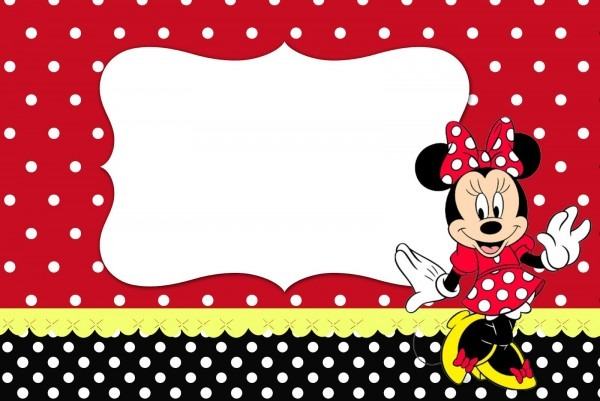 Kit completo minnie vermelha