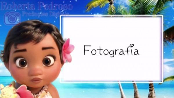 Convite animado tema moana baby on vimeo