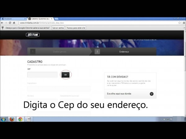 Como Receber O Chip Tim Beta No Facebook Com 2 Minutos