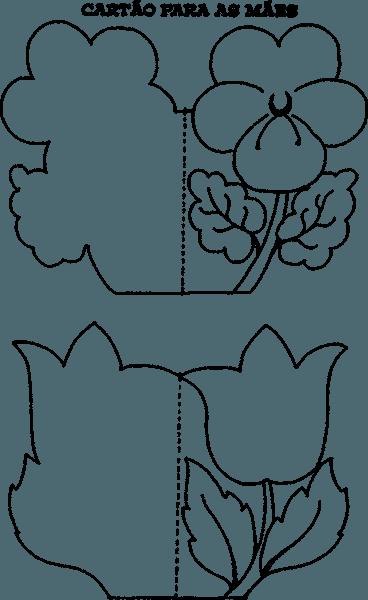 Cartao dia das maes para colorir 6