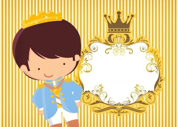 Convite príncipe moreno
