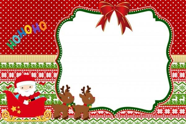 Kit digital para festa tema natal