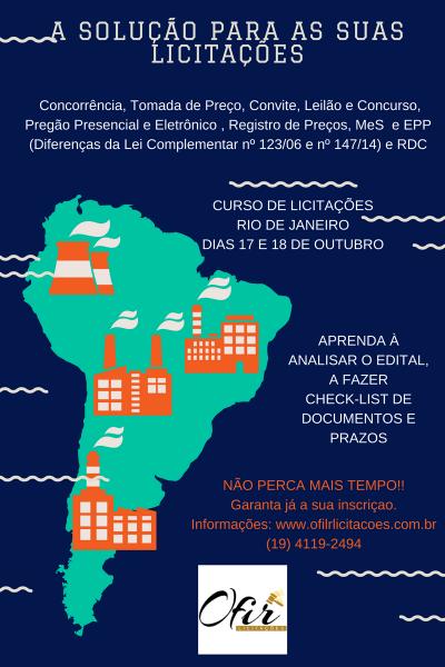 Rio de janeiro – a soluÇÃo para as suas participaÇÕes em