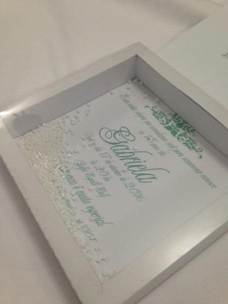 Arquivo silhouette convite caixa box no elo7