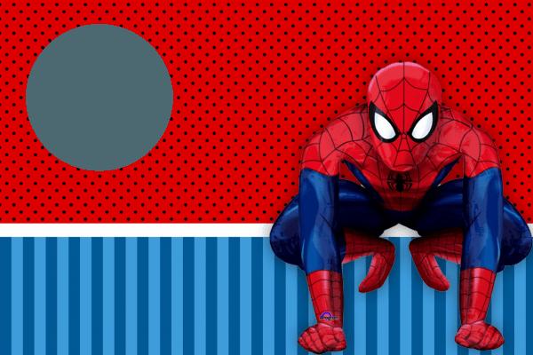Bom convite de festa infantil com tema de homem aranha « decoração