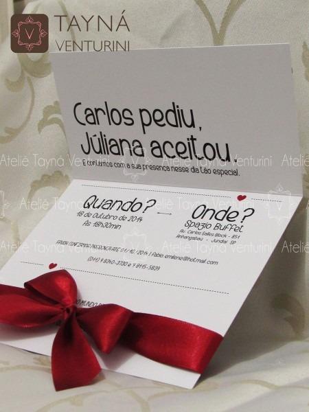 Convite de casamento ref  d06