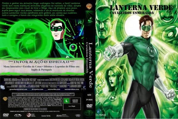 2º Filme De Animação  Lanterna Verde  Cavaleiros Esmeraldas