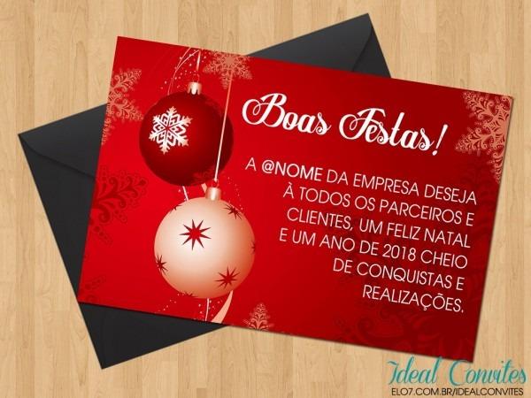 Cartão natal no elo7