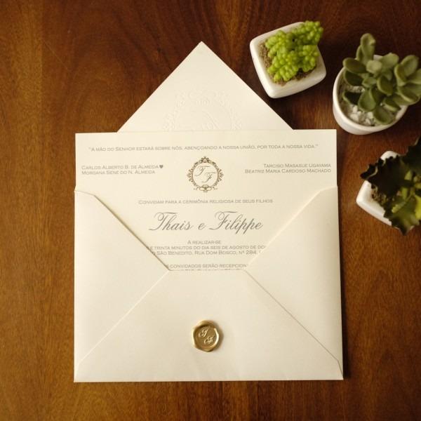 38 modelos de convites de casamento clássicos, modernos e rústicos