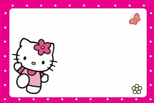 Passatempo da ana  convites hello kitty