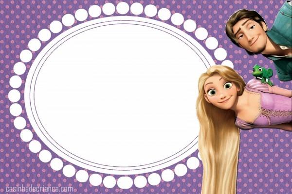 Casinha de criança  kit festa enrolados rapunzel para imprimir grátis