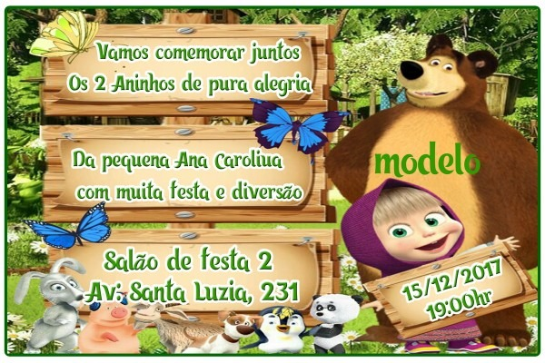 Convite 10x15