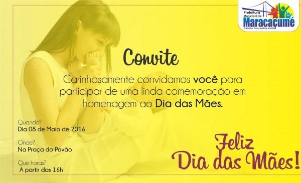 Fernando nascimentho  convite especial para a comemoração do dia
