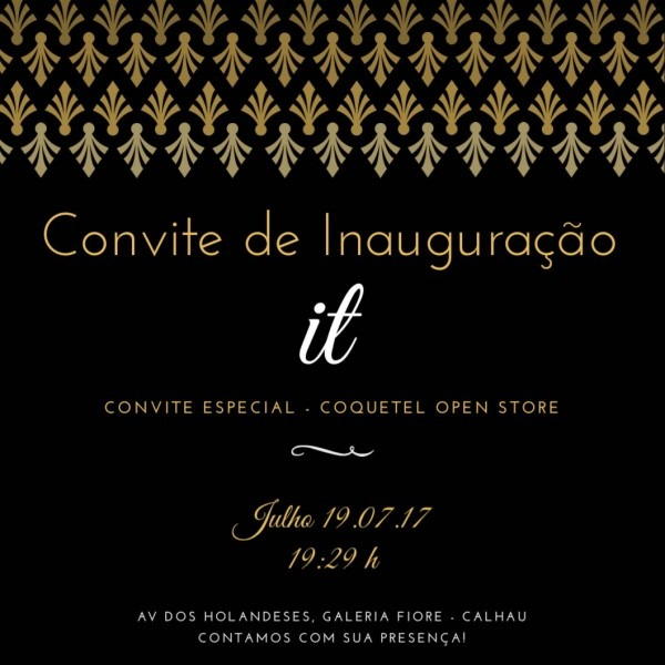 Cenário dos municípios  convite  coquetel open store de