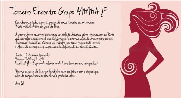 Aliança de mulheres pela maternidade ativa jf  convite para