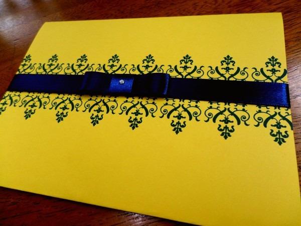 Inspiração  Casamento Azul E Amarelo