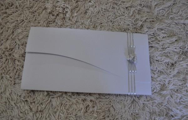 Convite casamento barato 10 unds