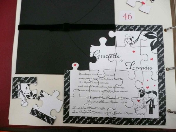 Tag; Convite De Casamento Diferente