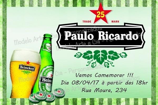 Convite cerveja