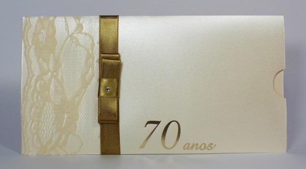 Lembrancinha de aniversário 70 anos