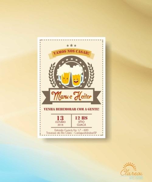 Convite de casamento churrasco 02