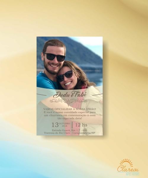 Convite de casamento churrasco 04