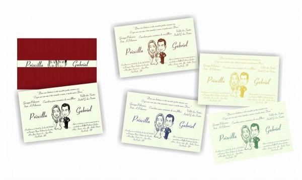 Convite De Casamento – Priscila E Gabriel