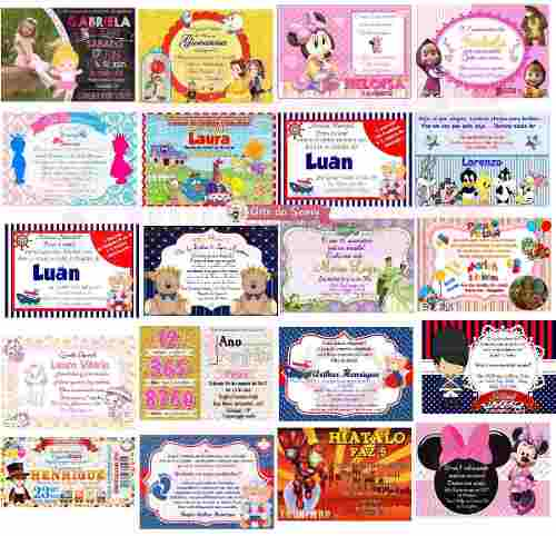 Convite Digital Para Enviar Por Whats, Facebook E Email