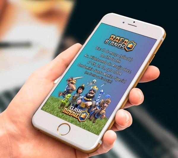 Convite digital para whatsapp no elo7