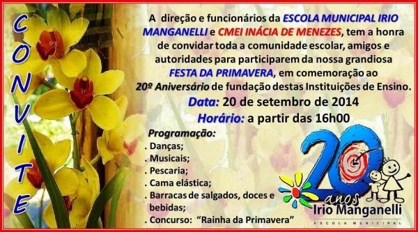 Infoirio  convite