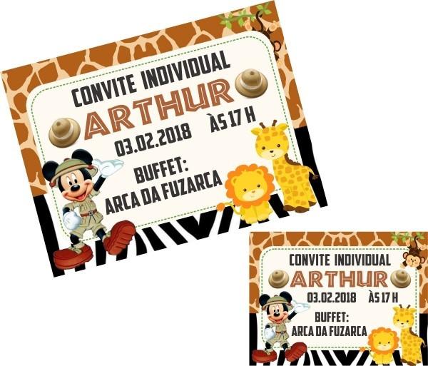 Convite individual 50 un