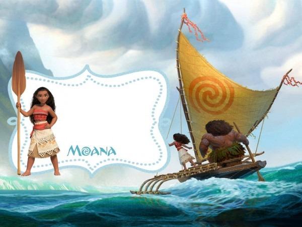 Convite Kit Moana