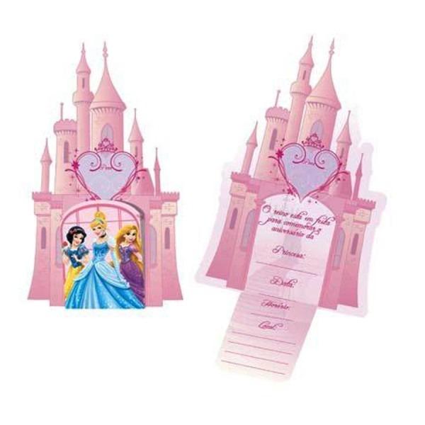 Convite para festa princesas debut c 8und