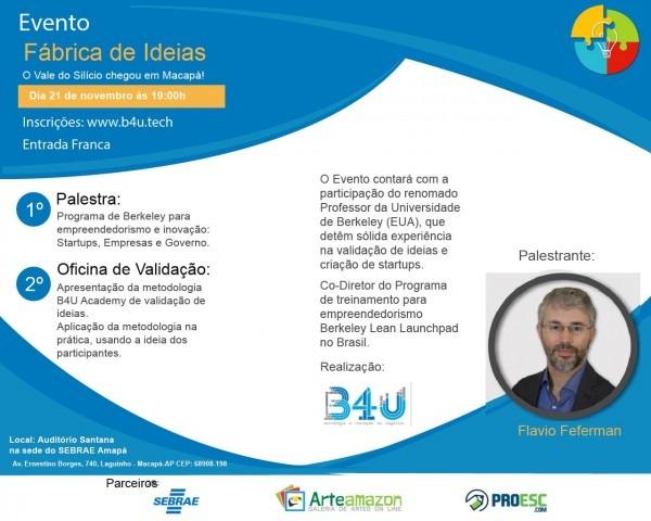 Arteamazon recebe convite para participar da palestra fÁbrica de