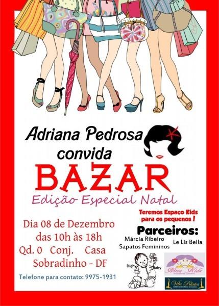Mimos de mãe!  convite bazar