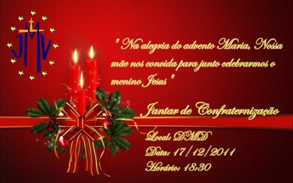 Vicentinos do asfalto  convite para o natal da jmv dmd