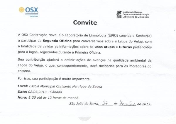 Blog do roberto moraes  osx convida pessoas da comunidade do açu