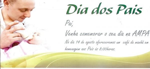 Convite Para O Dia Dos Pais 2011