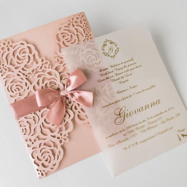 Convites 15 Anos  Dicas Para Escolher O Convite De Debutante!