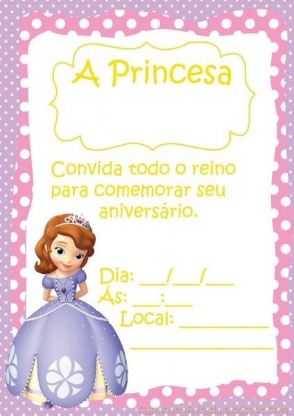 Convites de aniversario infantil gratis para imprimir 1 » happy