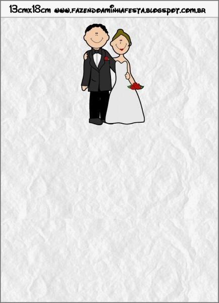 Modelos De Convites De Casamento Para Imprimir