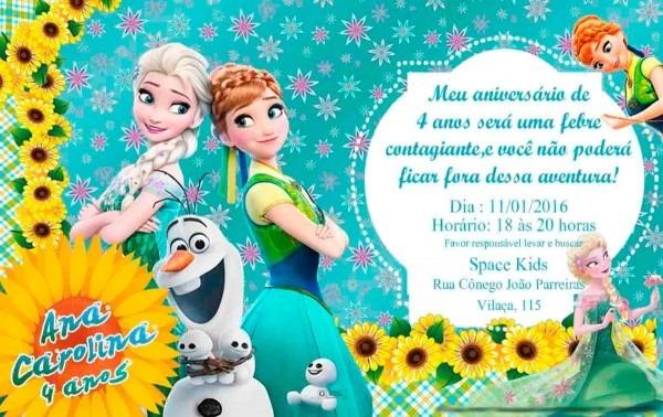 Convites personalizados 10 x 15 no elo7