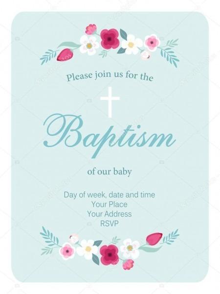Convite de batismo do bebê — vetores de stock © ishkrabal  116697446